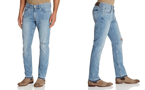 PAIGE Lennox Skinny Fit Jeans in Lyle - 100% Exclusive - Bloomingdale's_2