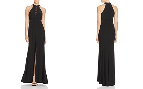 Avery G Illusion Crisscross Gown - Bloomingdale's_2