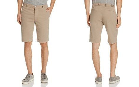 AG Twill Tailored Fit Shorts - Bloomingdale's_2