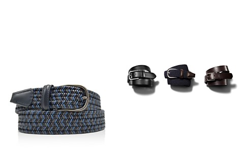 Anderson's Leather Stretch Woven Belt - Bloomingdale's_2