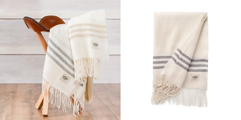 UGG® Baby Alpaca Taffeta Throw - Bloomingdale's_2