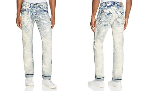 PRPS Goods & Co. Drainage Slim Fit Jeans in Indigo - Bloomingdale's_2
