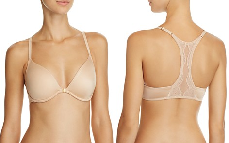Natori Demure Unlined Front Close Underwire Bra - Bloomingdale's_2