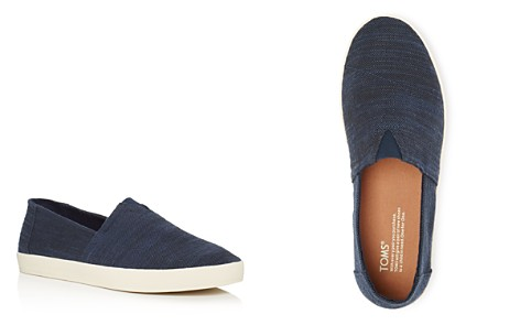 TOMS Men's Avalon Linen Slip On Sneakers - Bloomingdale's_2