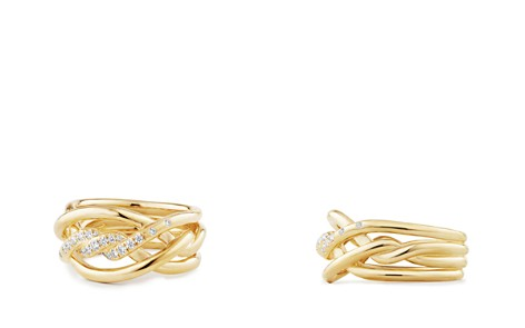 David Yurman Continuance Ring with Diamonds in 18K Gold, 11.5mm - Bloomingdale's_2