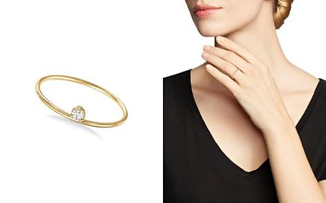 Zoë Chicco 14K Yellow Gold Prong Set Diamond Ring - Bloomingdale's_2