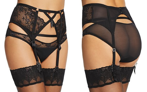 Dita Von Teese Madame X High-Waisted Lace Suspender Belt - Bloomingdale's_2