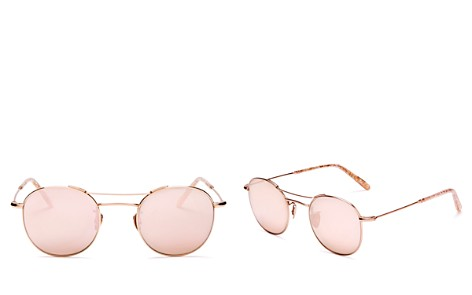 Krewe Women's Orleans Mirrored Round Sunglasses, 48mm - Bloomingdale's_2