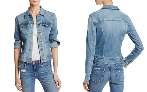 AG Robyn Denim Jacket in Streamside - Bloomingdale's_2