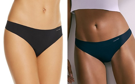 Calvin Klein Invisibles Thong - Bloomingdale's_2