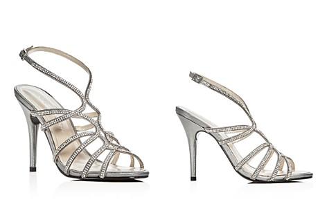 Caparros Helena Embellished Satin High-Heel Sandals - Bloomingdale's_2