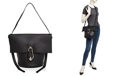 ZAC Zac Posen Belay Basic Leather Shoulder Bag - Bloomingdale's_2