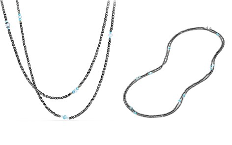 David Yurman Mustique Beaded Necklace with Hematine and Turquoise - Bloomingdale's_2