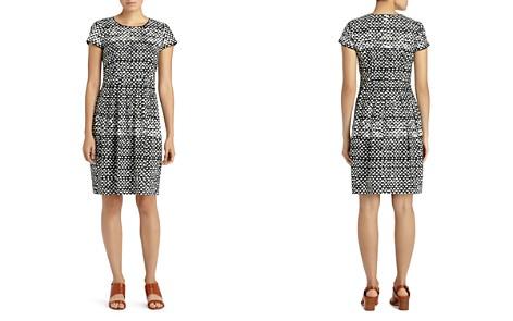 Lafayette 148 New York Gina Geo Print Sheath Dress - Bloomingdale's_2