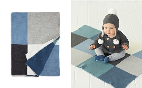 Elegant Baby Infant Boys' Patchwork Blanket - Bloomingdale's_2