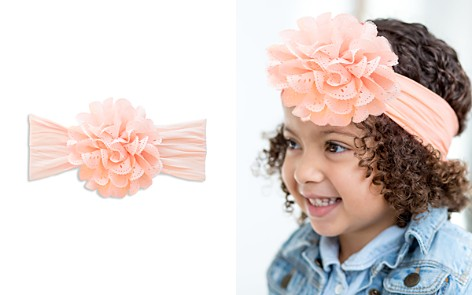Baby Bling Infant Girls' Eyelet Flower Headband - Bloomingdale's_2