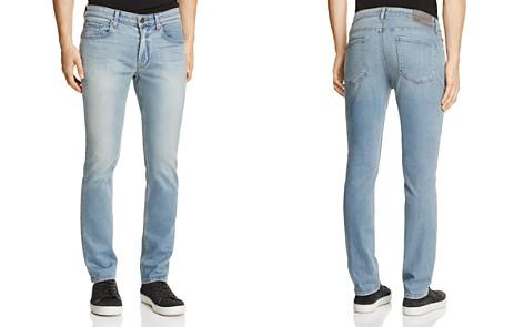 PAIGE Transcend Lennox Skinny Fit Jeans in Rafi - Bloomingdale's_2