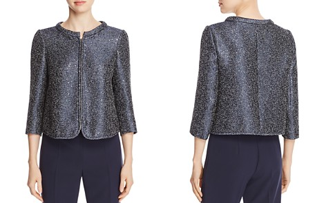 Armani Collezioni Sequin-Embellished Jacket - Bloomingdale's_2