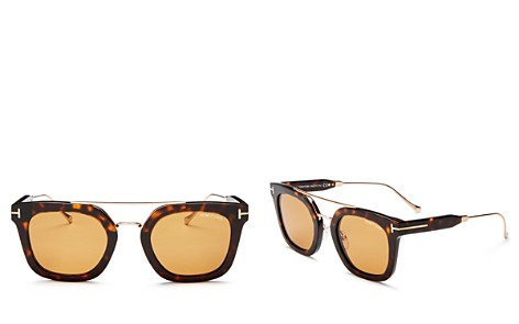 Tom Ford Women's Alex Brow Bar Square Sunglasses, 50mm - Bloomingdale's_2