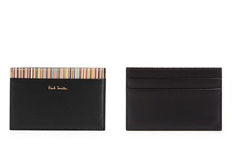 Paul Smith Multistripe Leather Card Case - Bloomingdale's_2