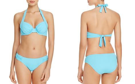 Tommy Bahama Pearl Underwire Halter Bikini Top & Pearl Shirred Bikini Bottom - Bloomingdale's_2