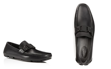 Salvatore Ferragamo Men's Sardegna Vara Bit Leather Loafers - Bloomingdale's_2