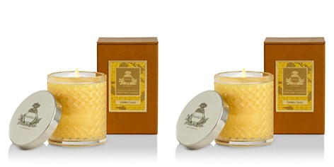 Agraria - Golden Cassis Woven Crystal Candle- 7 oz.    b 29251 815163013473 - Bloomingdale's_2