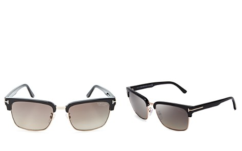 Tom Ford Polarized River Square Sunglasses, 57mm - Bloomingdale's_2