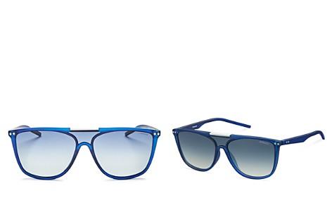 Polaroid Men's Zero Base Polarized Square Sunglasses, 57mm - Bloomingdale's_2