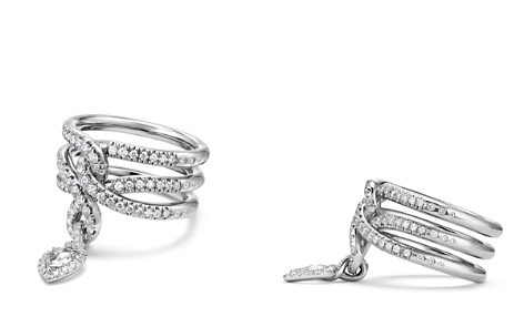 David Yurman Continuance Drop Ring with Diamonds in 18K Gold - Bloomingdale's_2