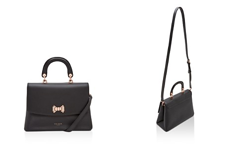 Ted Baker Curved Bow Lady Leather Satchel - Bloomingdale's_2