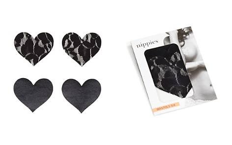 Bristols Six Nippies Basics Heart Pasties - Bloomingdale's_2
