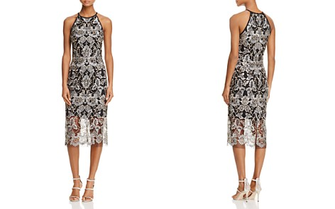 AQUA Sleeveless Lace Cocktail Dress - 100% Exclusive - Bloomingdale's_2