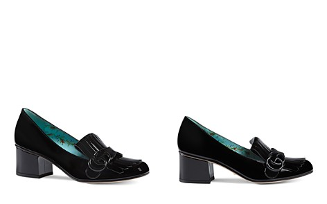 Gucci Marmont Mid Heel Loafers - Bloomingdale's_2