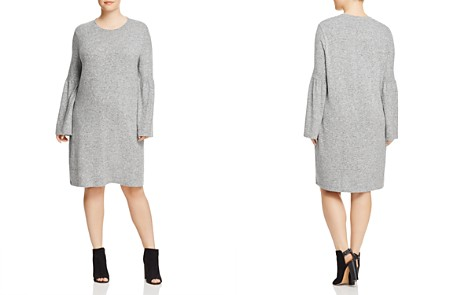 B Collection by Bobeau Curvy Bell Sleeve Dress - 100% Exclusive - Bloomingdale's_2