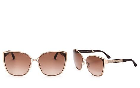 Jimmy Choo Matys Square Sunglasses, 58mm - Bloomingdale's_2
