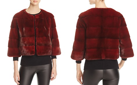 Maximilian Furs Cropped Nafa Mink Fur Jacket - 100% Exclusive - Bloomingdale's_2