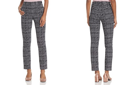 Theory Slim Stretch-Tweed Pants - 100% Exclusive - Bloomingdale's_2