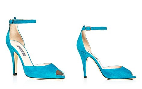 SJP by Sarah Jessica Parker Marquee Suede High Heel Pumps - 100% Exclusive - Bloomingdale's_2