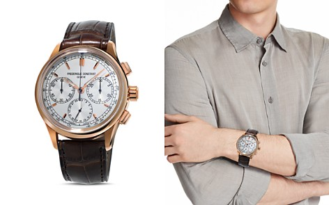 Frederique Constant Flyback Chronograph Manufacture, 42mm - Bloomingdale's_2