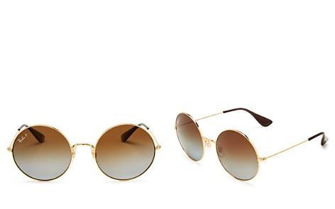 Ray-Ban Ja-Jo Polarized Round Sunglasses, 54mm - Bloomingdale's_2