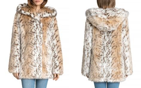 Avec Les Filles Hooded Faux Fur Coat - Bloomingdale's_2