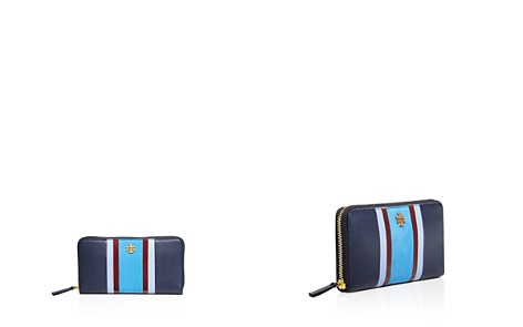 Tory Burch Georgia Stripe Zip Continental Wallet - 100% Exclusive - Bloomingdale's_2