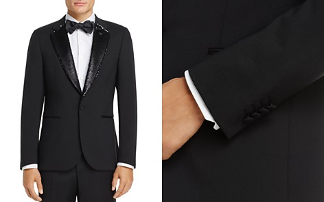 Paul Smith Sequin Lapel Slim Fit Tuxedo Jacket - 100% Exclusive - Bloomingdale's_2