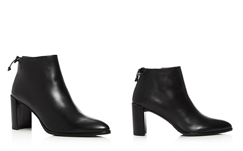 Stuart Weitzman Lofty Block Heel Booties - Bloomingdale's_2