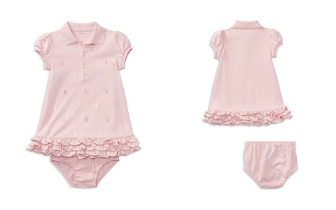 Ralph Lauren Girls' Ruffled & Embroidered Polo Dress with Bloomers - Baby - Bloomingdale's_2
