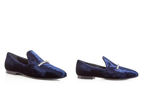 Via Spiga Women's Tallis Velvet Loafers - 100% Exclusive - Bloomingdale's_2