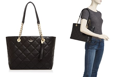 kate spade new york Emerson Place Priya Small Quilted Leather Tote - Bloomingdale's_2