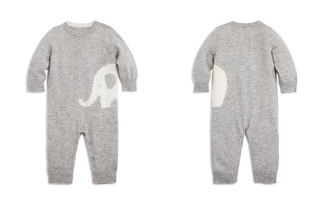 Bloomie's Unisex Intarsia Elephant Cashmere Coverall, Baby - 100% Exclusive - Bloomingdale's_2