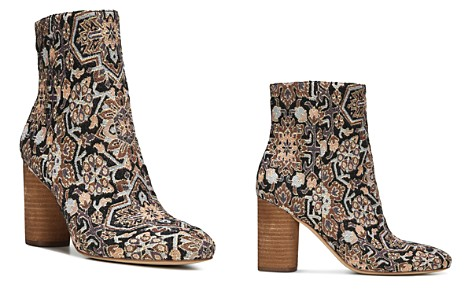 Sam Edelman Corra Woven High Block Heel Booties - Bloomingdale's_2